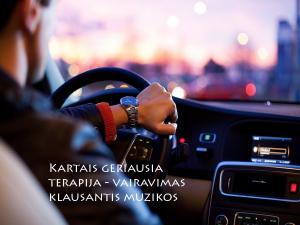 Vairavimas kaip terapija